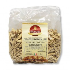 Cavatelli integrali - Pasta Saragolla Lucano (Khorasan) Artigianale 500 g.