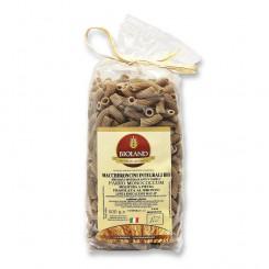 Maccheroncini - Pasta di Farro Monococcum integrale Trafilata al Bronzo12x500g