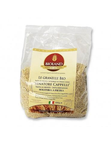 Le granelle - Pasta Integrale Senatore Cappelli Trafilata al Bronzo 20x500g
