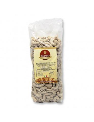 Maccheroncini - Pasta Integrale Senatore Cappelli Trafilata al Bronzo 12x500g