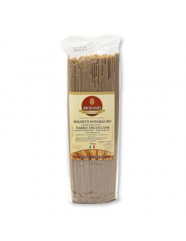 Spaghetti- Pasta di Farro Dicoccum integrale Trafilata al Bronzo 500g