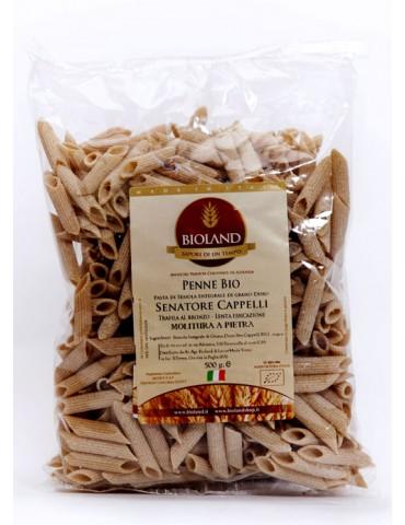 Penne - Pasta Integrale Senatore Cappelli Trafilata al Bronzo 12x500g