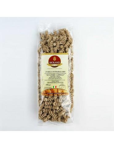 Fusilli - Pasta Integrale Senatore Cappelli Trafilata al Bronzo 12x500g