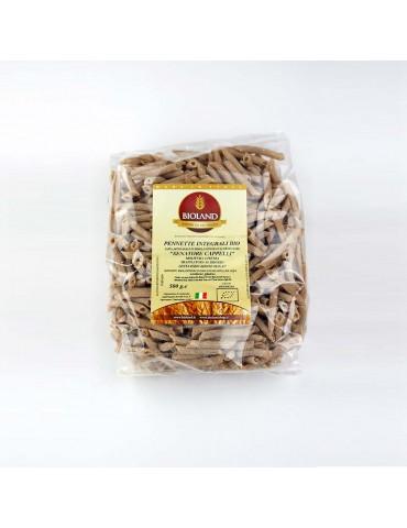 Pennette - Pasta Integrale Senatore Cappelli Trafilata al Bronzo 12x500g