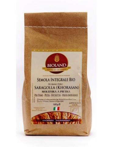 Semola Integrale Saragolla (Lucano) 25Kg