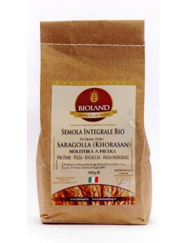 Semola Integrale Saragolla (Lucano) 5Kg