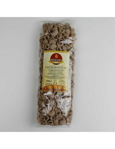 Lumache- Pasta di Farro Dicoccum Trafilata al Bronzo 500g - 10 pz