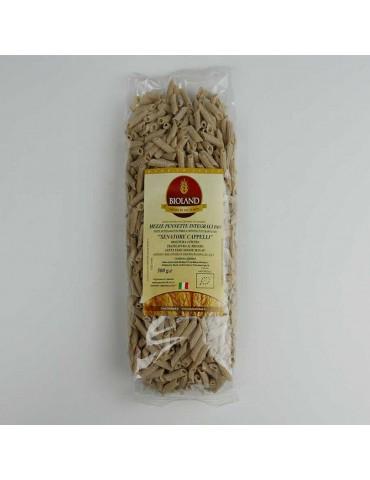 Mezze Pennette integrali - Pasta Integrale Senatore Cappelli Trafilata al Bronzo 500g