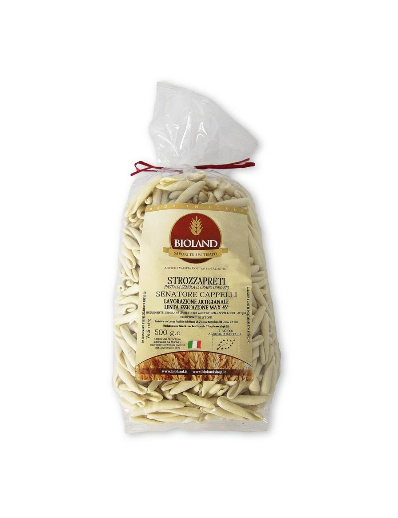Strozzapreti - Pasta Senatore Cappelli 500g