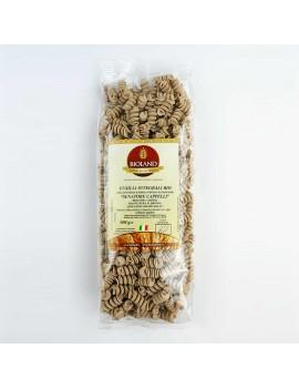 Fusilli - Pasta Integrale Senatore Cappelli Trafilata al Bronzo 500g - 12 pz