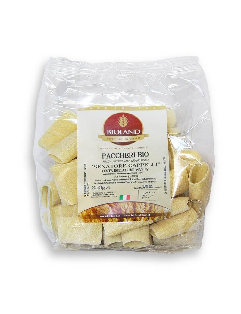 Paccheri - Pasta Senatore Cappelli  Trafilata al Bronzo 250g