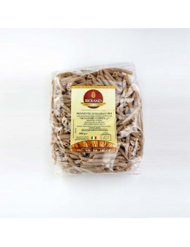 Pennette - Pasta Integrale Senatore Cappelli Trafilata al Bronzo 500g - 12 pz