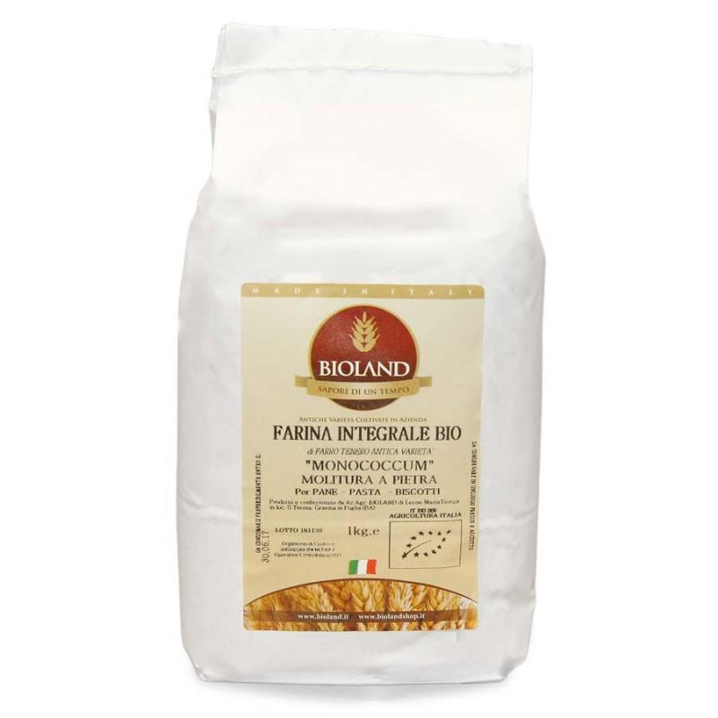 Farina Integrale Farro Monococcum 1Kg - 12 pz