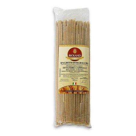 Spaghetti - Pasta Integrale Senatore Cappelli Trafilata al Bronzo 500g