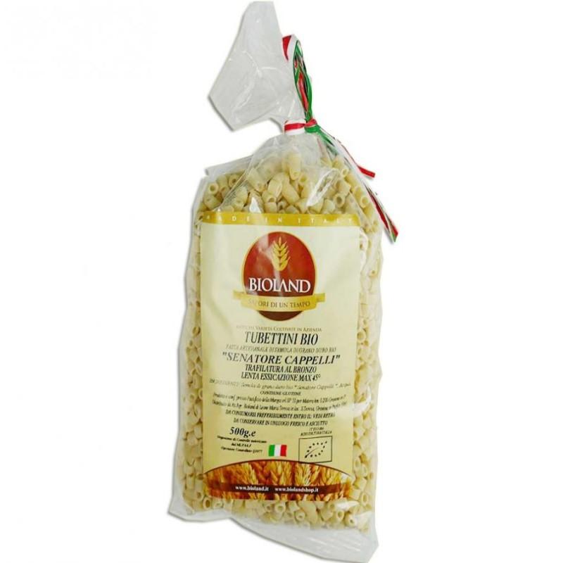 Tubettini - Pasta Senatore Cappelli  Trafilata al Bronzo 500g