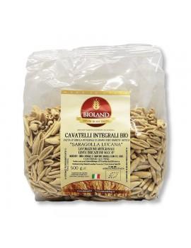 Cavatelli Integrali - Pasta Khorasan (Saragolla Lucana) Artigianale 500g - 12 pz