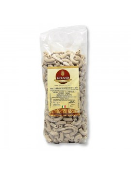 Maccheroncini - Pasta Integrale Senatore Cappelli Trafilata al Bronzo 500g - 12 pz
