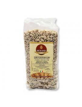 Tubetti - Pasta integrale di Farro dicoccum Trafilata al Bronzo 500g - 12 pz