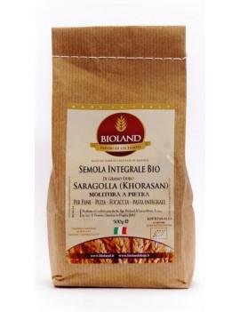 Semola Integrale Saragolla (Lucano)5Kg - 4 pz