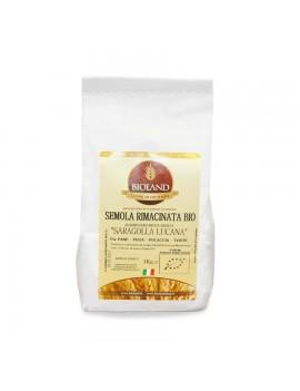 Semola Rimacinata Saragolla (Lucano) 25Kg - 4 pz